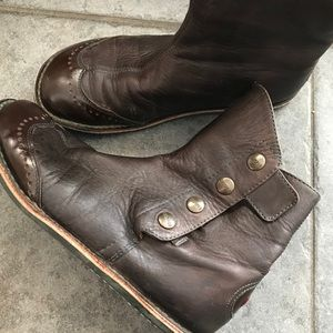Camper Leather Ankle Boots size 7